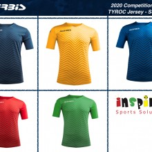 Tyroc Competition Jersey I Inspired Sports Solutions Ltd