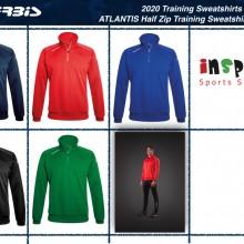 Atlantis Half Zip Training Sweatshirt I Inspired Sports Solutions Ltd