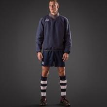 Belatrix Rain Jacket / Ferox Rugby Shorts / Double Stripe Socks