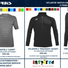ATLANTIS MATCH DAY BUNDLE 2020 I Inspired Sports Solutions Ltd