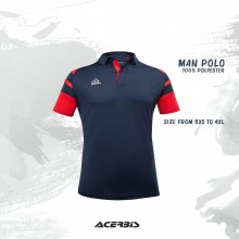 Kemari Man Polo Shirt I Inspired Sports Solutions Ltd