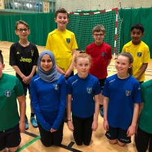 Colmore Junior School Handball Team I Inspired Sports Solutions Ltd
