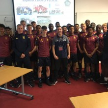 Charlie Fogarty MBE 'Anything is Possible' Motivational Speech - Aston Villa FC I Inspired Sports Solutions Ltd