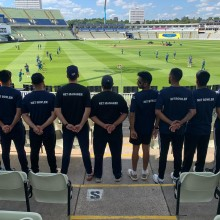 Official NET BOWLER Team - The Ashes First Test July 2019 (Edgbaston) I Inspired Sports Solutions Ltd