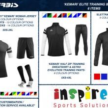 KEMARI 'ELITE' TRAINING BUNDLE 2 2020 - 6 ITEMS I Inspired Sports Solutions Ltd