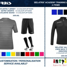 BELATRIX 'ACADEMY' TRAINING BUNDLE 1 2020 - 4 ITEMS I Inspired Sports Solutions Ltd