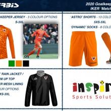 IKER GOALKEEPER 'MATCH' SET 2020 I Inspired Sports Solutions Ltd