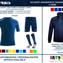 ATLANTIS 'GRASSROOTS' TRAINING BUNDLE 1 2020 - 4 ITEMS I Inspired Sports Solutions Ltd
