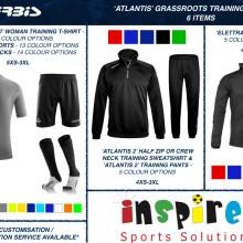 ATLANTIS 'GRASSROOTS' TRAINING BUNDLE 2 2020 - 6 ITEMS I Inspired Sports Solutions Ltd