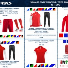 KEMARI 'ELITE' TRAINING / FREE TIME BUNDLE 3 2020 - 10 ITEMS I Inspired Sports Solutions Ltd